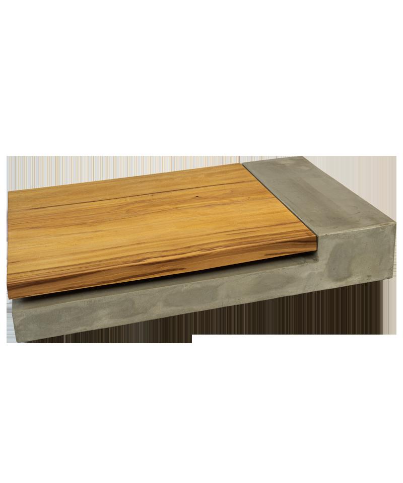 Beton Holz Tisch